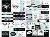 Flirty Fleur Quote + Word Stickers - Prima