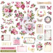 Misty Rose Ephemera Sticker 2 - Prima