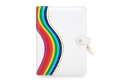 Rainbow Plaid Binder - Websters Pages - PRE ORDER