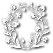 Butterfly Oval Die - Tutti