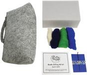 Hearts Clutch - Pretty Twisted Needle Felting DIY Kit
