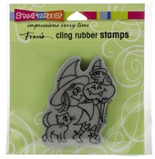 Withcy Friends - Stampendous Cling Stamp