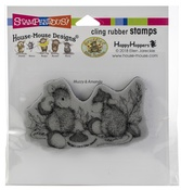 Acorn Cap - Stampendous House Mouse Cling Stamp
