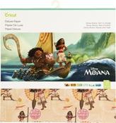 "Disney Moana, Born To Voyage - Cricut 12""X12"" Deluxe Paper 12/Pkg"