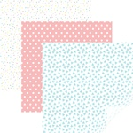 "Party Time Pastels - Cricut 12""X12"" Patterned Premium Vinyl Sampler 6/Pkg"