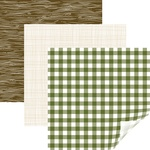 "Rustic Lodge, Forest - Cricut 12""X12"" Patterned Premium Vinyl Sampler 6/Pkg"