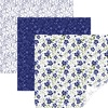 In Bloom Blue - Cricut 12 X12  Patterned Premium Vinyl Sampler 6/Pkg Personalize your life with Circuit vinyl! It is perfect for home decor, signs, laptops, cell phones and more! This package contains six 12x12 inch vinyl sheets in three patterns (two of each). Imported.