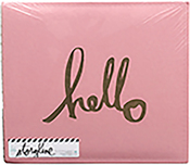 "Gold Hello - Heidi Swapp Storyline 2 Post Bound Album 12""X12"""