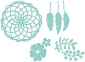 Floral Dream Catcher - Kaisercraft Decorative Die