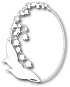 Lily Of The Valley Frame - Tutti Designs