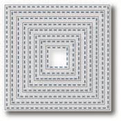 Nesting Stitched Squares - Tutti