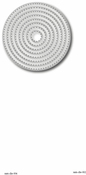 Nesting Stitched Circles - Tutti