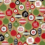 Deck The Halls Paper - Celebrate Christmas - Echo Park