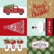 4x6 Journaling Cards Paper - Celebrate Christmas - Echo Park