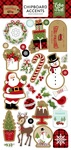 Celebrate Christmas Chipboard Accents - Echo Park - PRE ORDER
