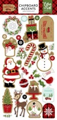 Celebrate Christmas Chipboard Accents - Echo Park