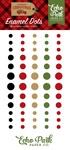 Celebrate Christmas Enamel Dots - Echo Park - PRE ORDER