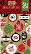 Blank Celebrate Christmas Travelers Notebook Insert - Echo Park