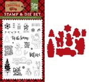 Deliver Christmas Die & Stamp Set - Echo Park