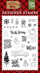 Deliver Christmas Stamp - Echo Park