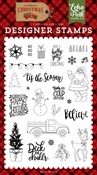 Deliver Christmas Stamp - Echo Park