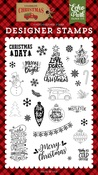 Christmas Day Stamp - Echo Park