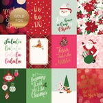 3X4 Journaling Cards Foiled Paper - Merry & Bright - Echo Park