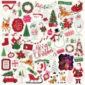 Merry & Bright Element Sticker - Echo Park