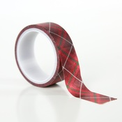 Merry Plaid Decorative Tape - Echo Park