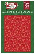 Holly Branch Embossing Folder - Echo Park