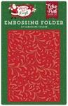 Holiday Flourish Embossing Folder - Echo Park
