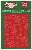 Frosted Snowflakes Embossing Folder - Echo Park