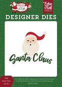 Jolly Santa Claus Die Set - Echo Park