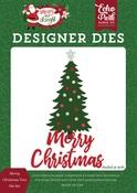 Merry Christmas Tree Die Set - Echo Park