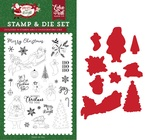 Merry Christmas To You Die & Stamp Set - Echo Park