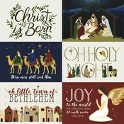 4X6 Journaling Cards Paper - Oh Holy Night - Echo Park