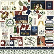 Oh Holy Night Element Sticker Sheet - Echo Park