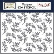 Olive Branch Stencil - Echo Park