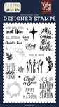 Christ is Born Stamp Set - Echo Park