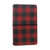 Buffalo Plaid Travelers Notebook - Echo Park