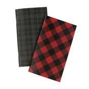 Lined Red Buffalo Travelers Notebook Insert - Echo Park