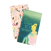Blank Mermaid Travelers Notebook Insert - Echo Park - PRE ORDER