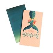 Lined Mermaid Travelers Notebook Insert - Echo Park