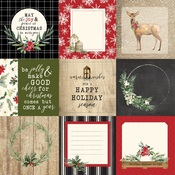 4X4 Journaling Cards Paper - Christmas - Carta Bella