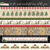 Border Strips Paper - Christmas - Carta Bella