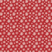Merry Snowflakes Paper - Christmas - Carta Bella