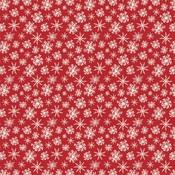 Merry Snowflakes Paper - Christmas - Carta Bella