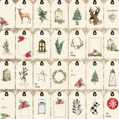 Gift Tags Paper - Christmas - Carta Bella