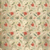 Winter Floral Paper - Christmas - Carta Bella