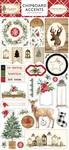 Christmas Chipboard Accents - Carta Bella